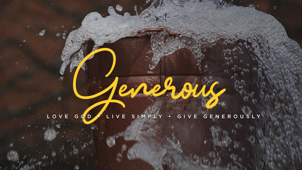 God Loves Cheerful Generosity (Campus)